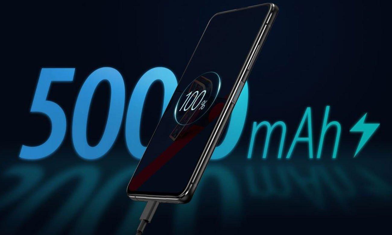 ASUS ZenFone 7 128 GB Black pojemność baterii