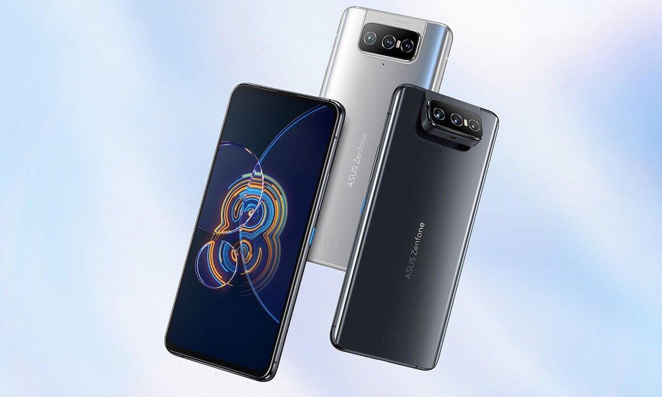 ASUS ZenFone 8 Flip 256 GB Silver ekran i aparat