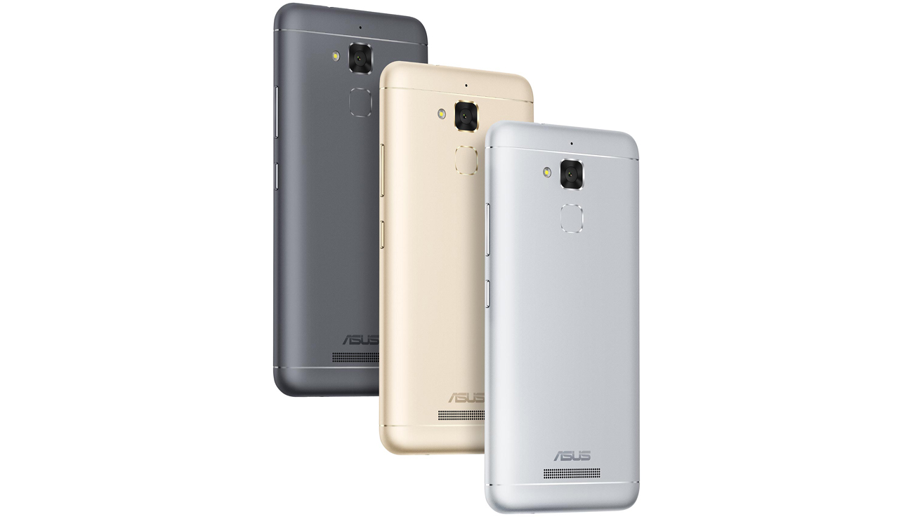ASUS Zenfone 3 Max ZC520TL Sand Gold Titanium Gray Glacier Silver Rose Gold