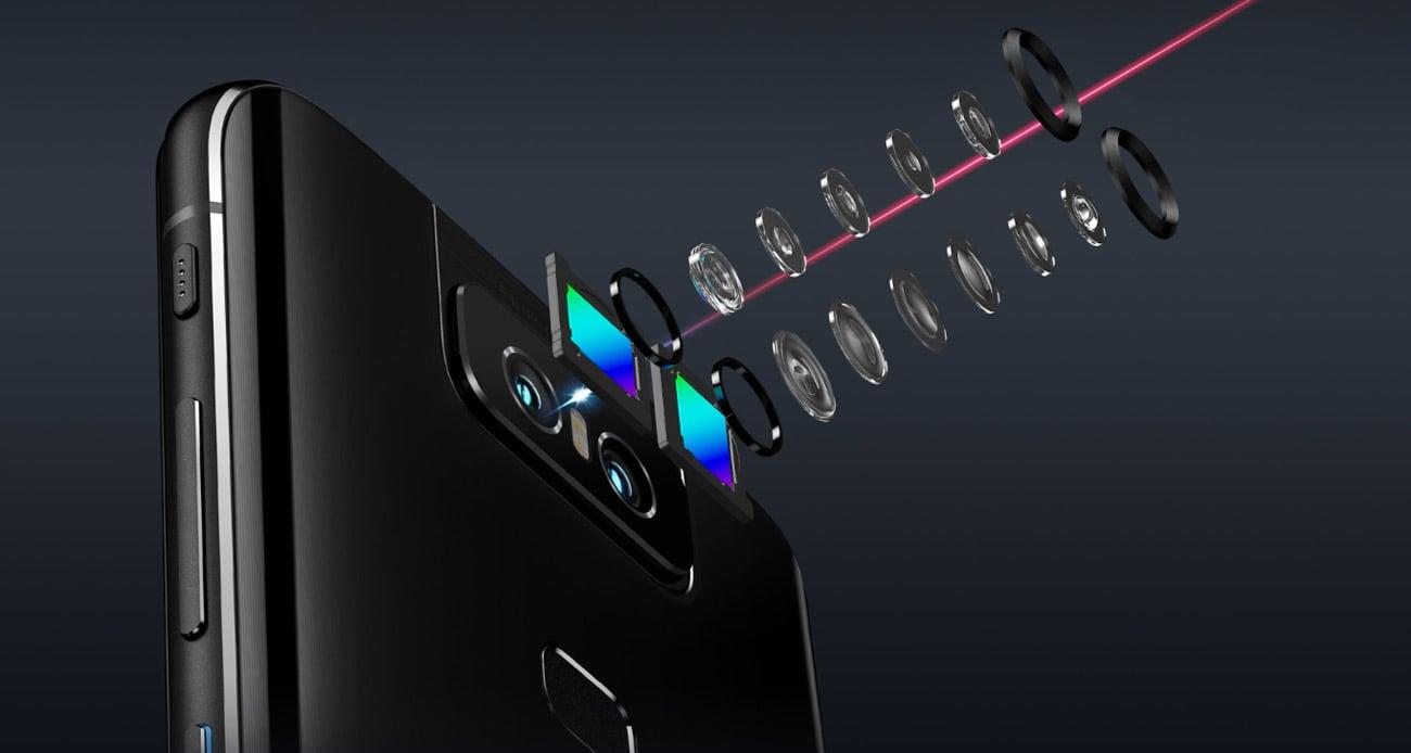 ZenFone Max 6 odwracany podwójny aparat
