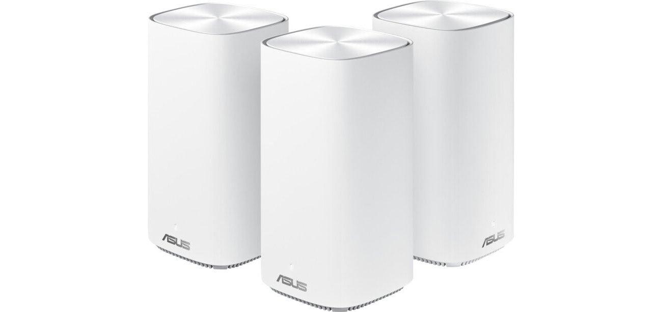 System Mesh Wi-Fi ASUS ZenWiFi AC CD6 MESH (1500Mb/s a/b/g/n/ac) 3xAP