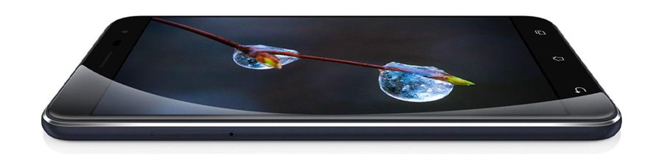 Granatowy ASUS ZenFone 3 obudowa ze szkła i metalu