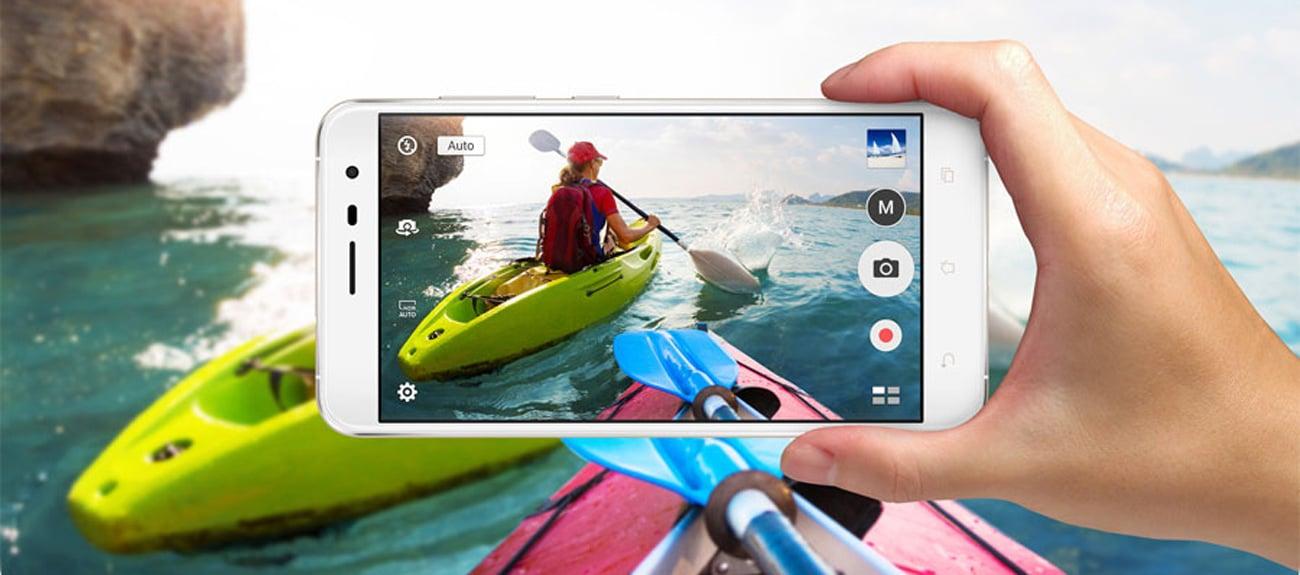 ASUS ZenFone 3 czteroosiowa stabilizacja obrazu