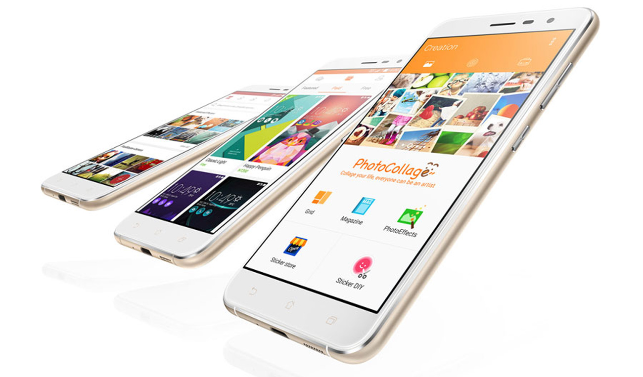 ASUS ZenFone 3 android z nakładką zenui