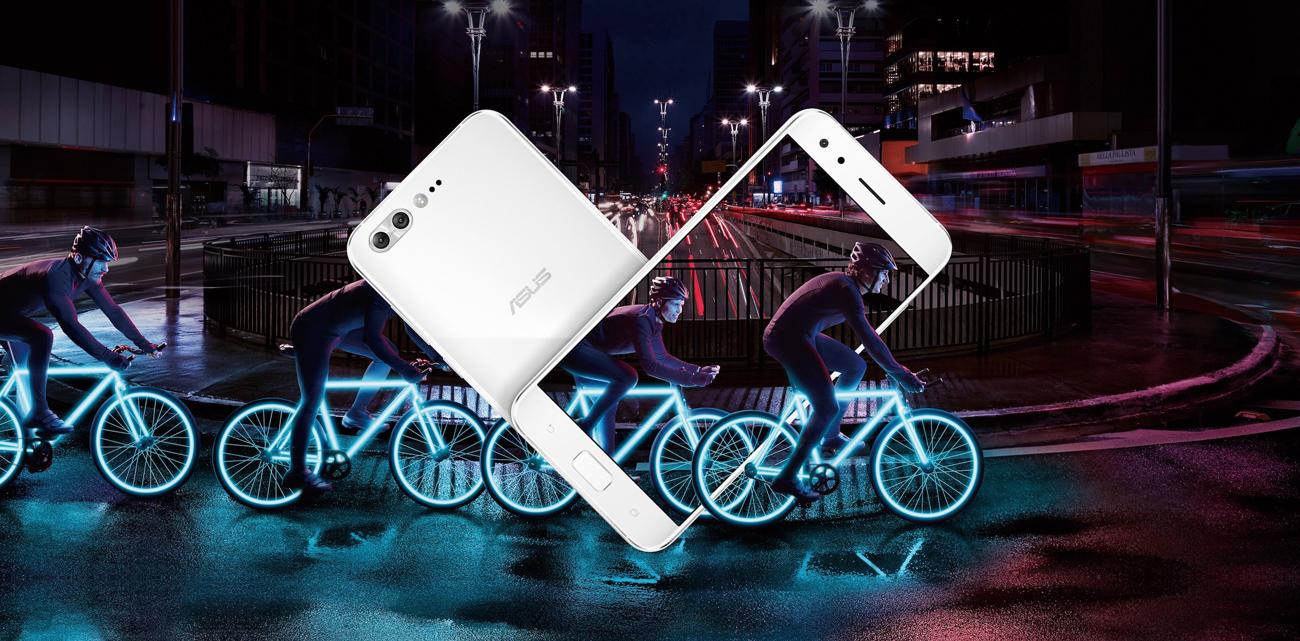 biały ASUS ZenFone 4 Pro ZS551KL obudowa ze szkła i metalu