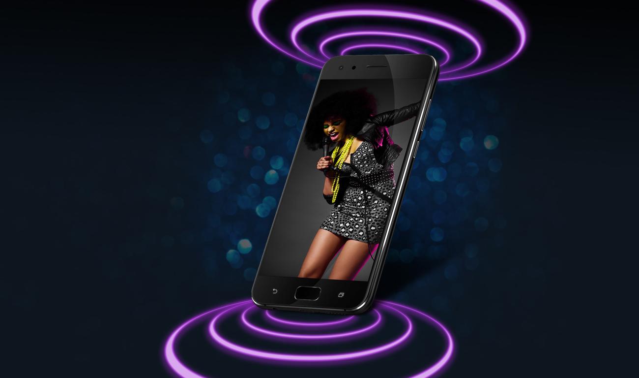 ASUS ZenFone 4 Pro ZS551KL dźwięk sonicmaster 4.0 DTS