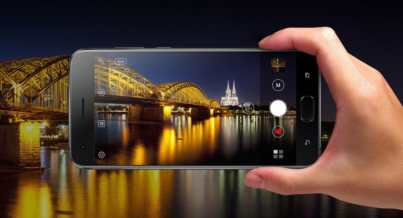 ASUS ZenFone 4 Pro ZS551KL pixelmaster 4K RAW autofocus