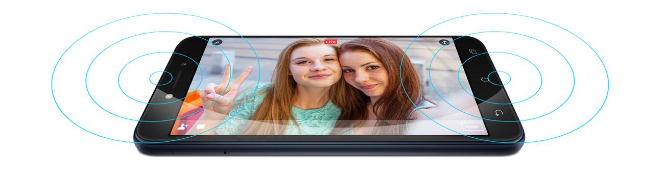 Zenfone Live ZB501KL dwa mikrofony redukcja hałasu