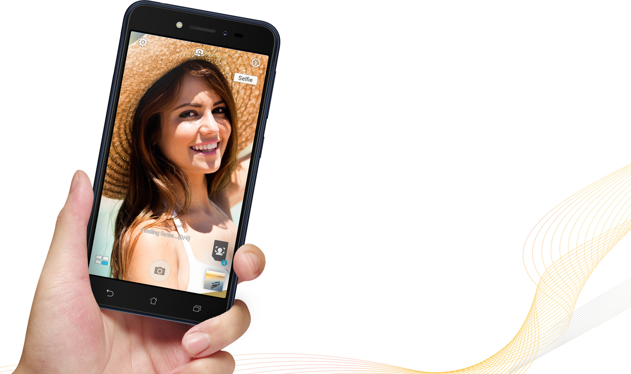Zenfone Live ZB501KL większa czułośc na światło szeroki kąt