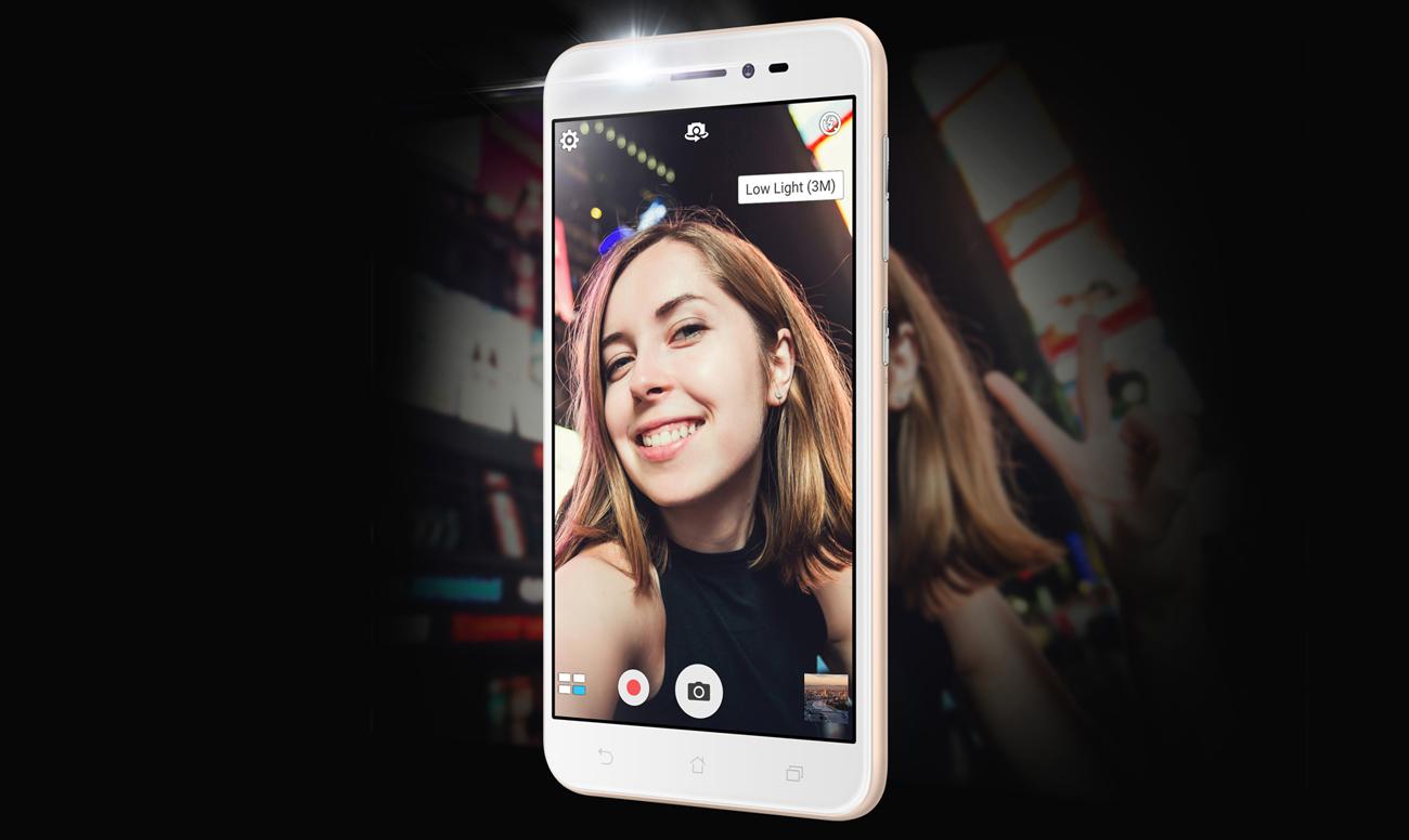 Zenfone Live ZB501KL aparat pixel master
