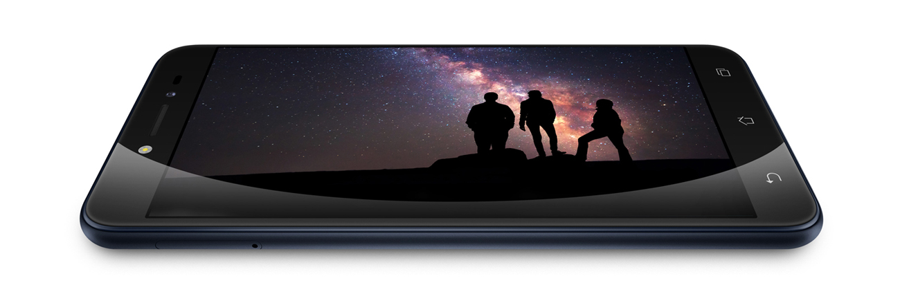 Zenfone Live ZB501KL smukła obudowa ekran 2.5D