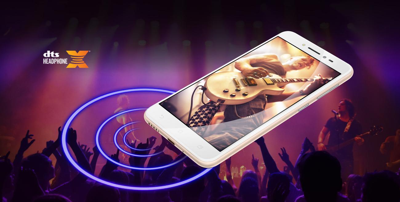 Zenfone Live ZB501KL pięciomagnesowy głośnik DTS 7.1