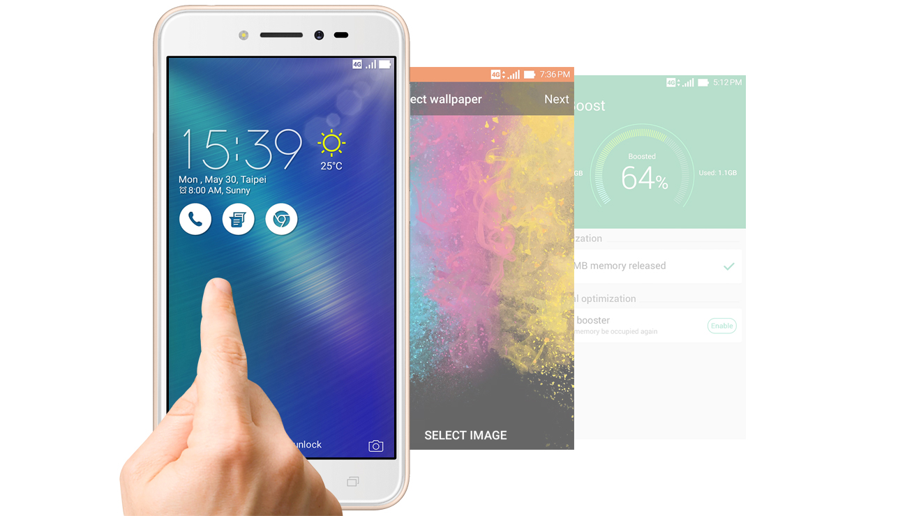 Zenfone Live ZB501KL nowe funkcje interfejsu