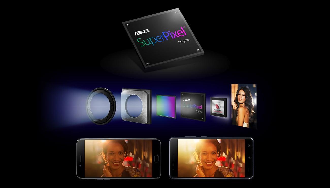 ASUS ZenFone Zoom S ZE553KL przysłona f/1.7