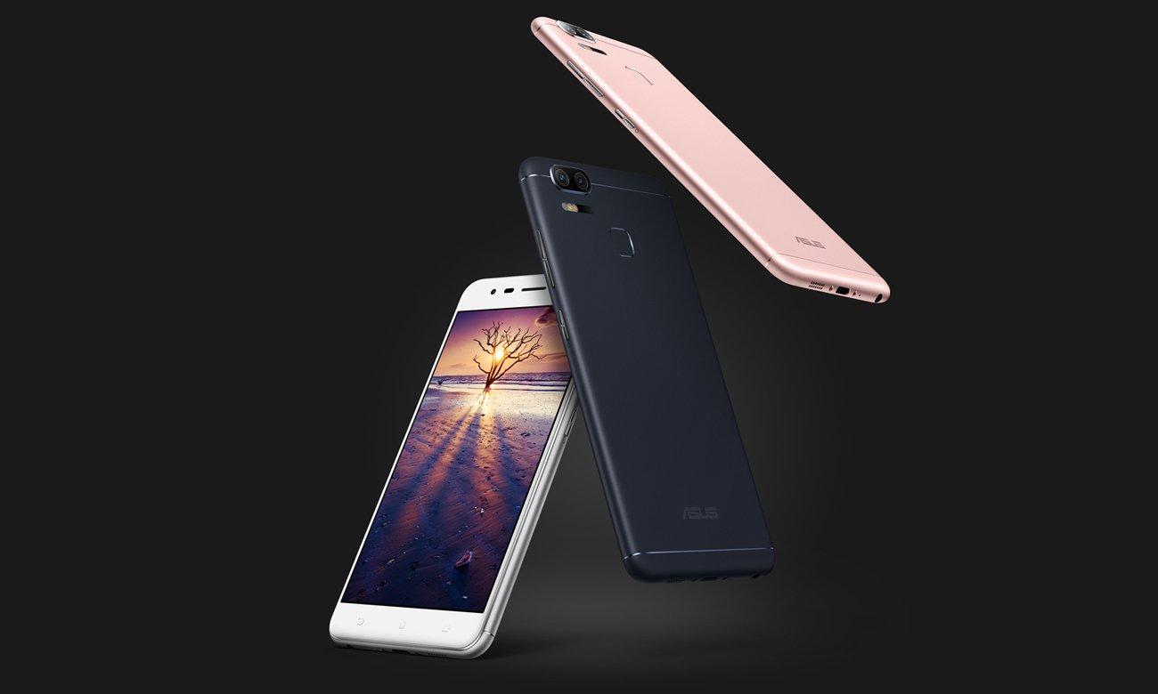 ASUS ZenFone Zoom S ZE553KL smukła metalowa obudowa