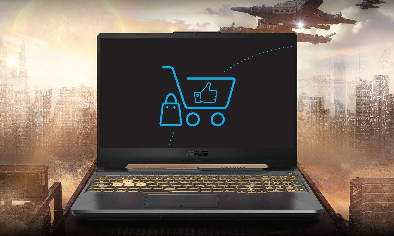 Laptop gamingowy ASUS TUF Gaming F15