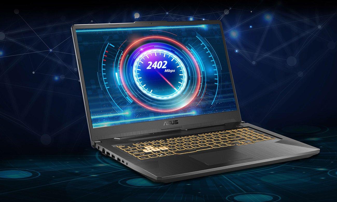 Wydajne podzespoły ntel® Core™ i5 10. generacji i karty graficznej GeForce® GTX 1650 Ti