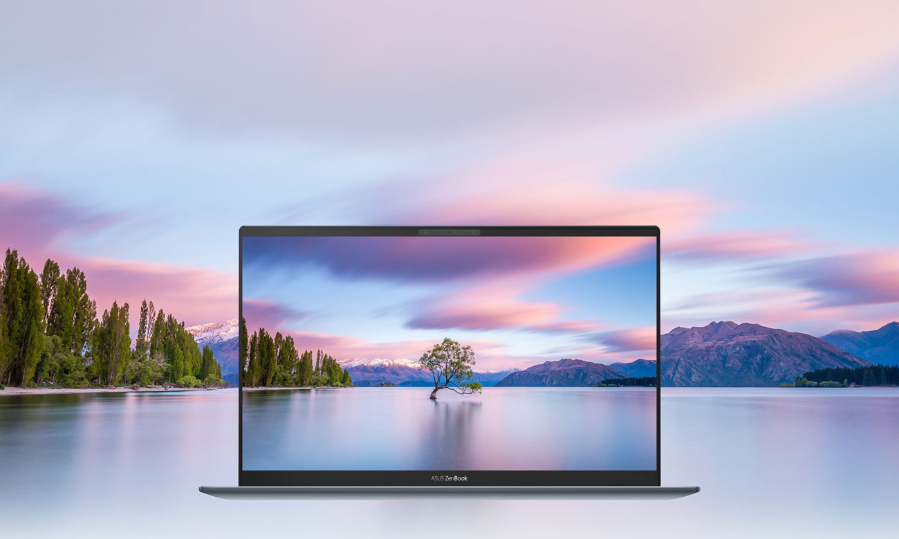 ekran ze smukłymi ramkami NanoEdge