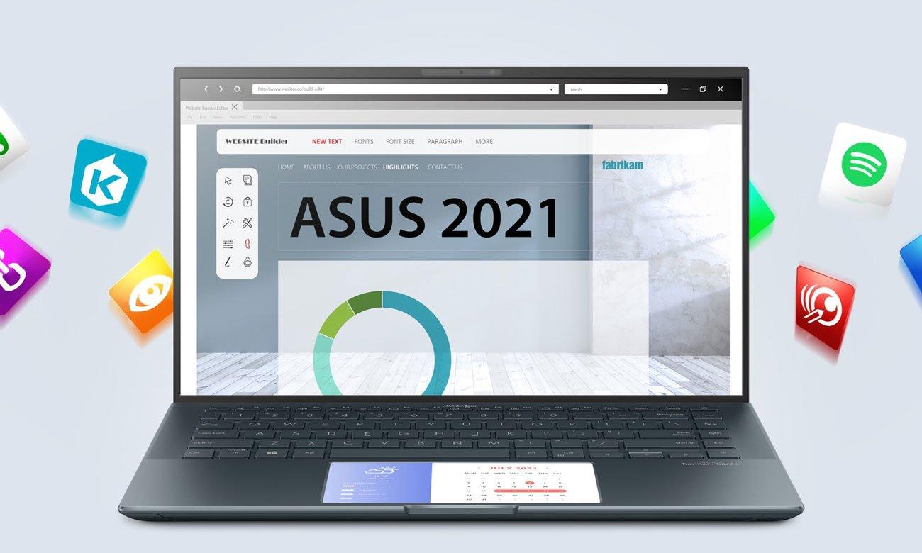ASUS Zenbook 14 UX435 ScreenPad 2.0