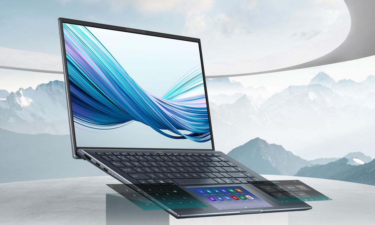 mobilny laptop ASUS Zenbook 14 UX435