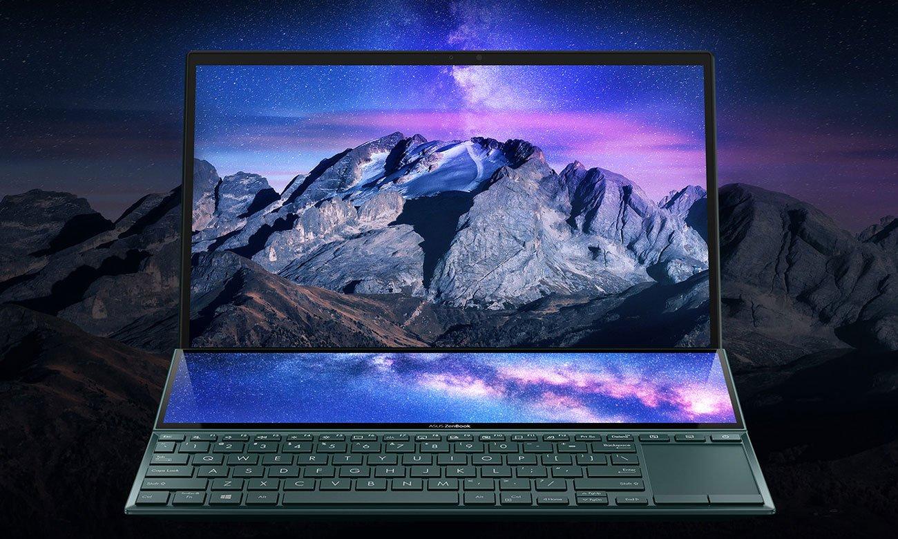 ASUS ZenBook Duo UX482 dotykowy ekran ScreenPad Plus