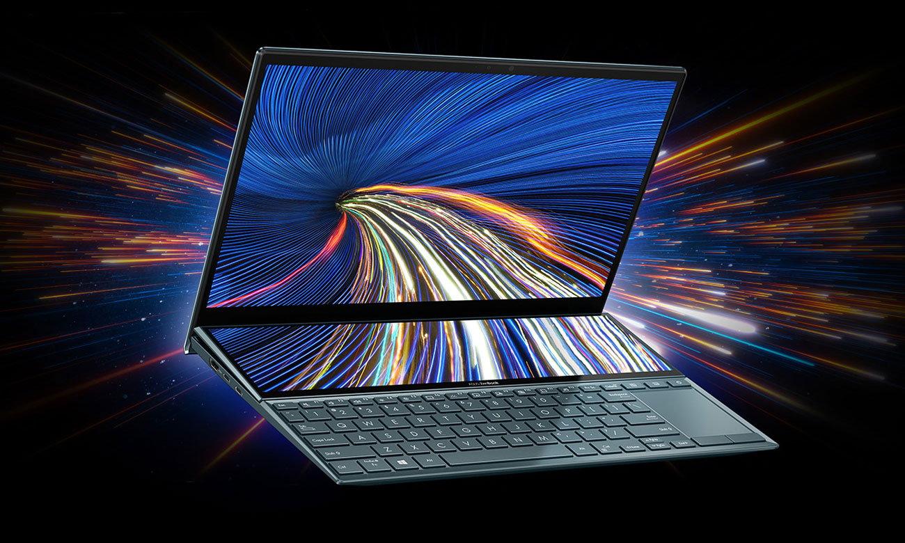 ASUS ZenBook Duo UX482 dwa ekrany