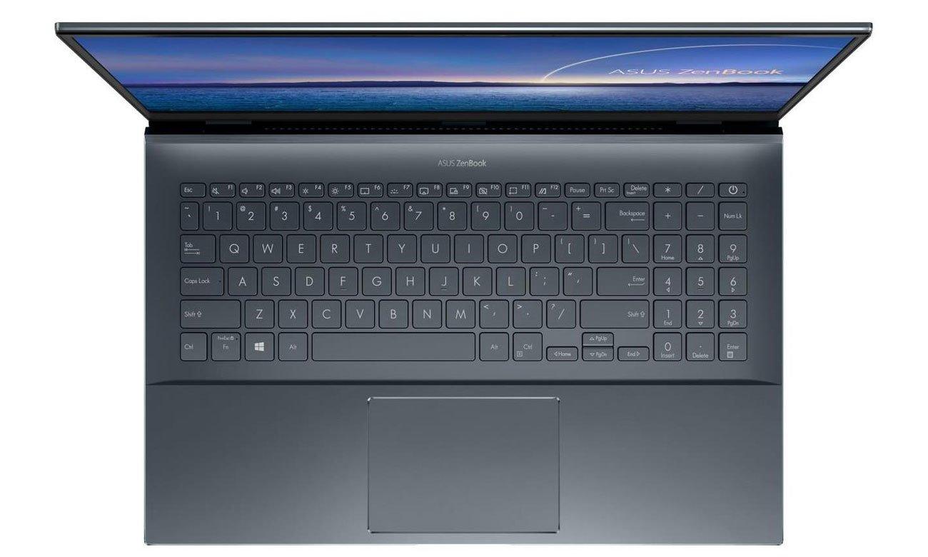 Laptop ASUS ZenBook Pro 15 UX535 klawiatura