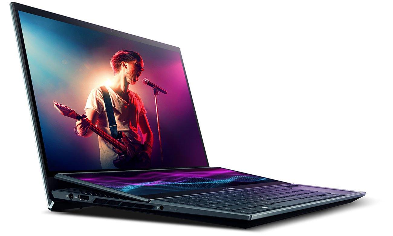ASUS ZenBook ProDuo układ chłodzenia