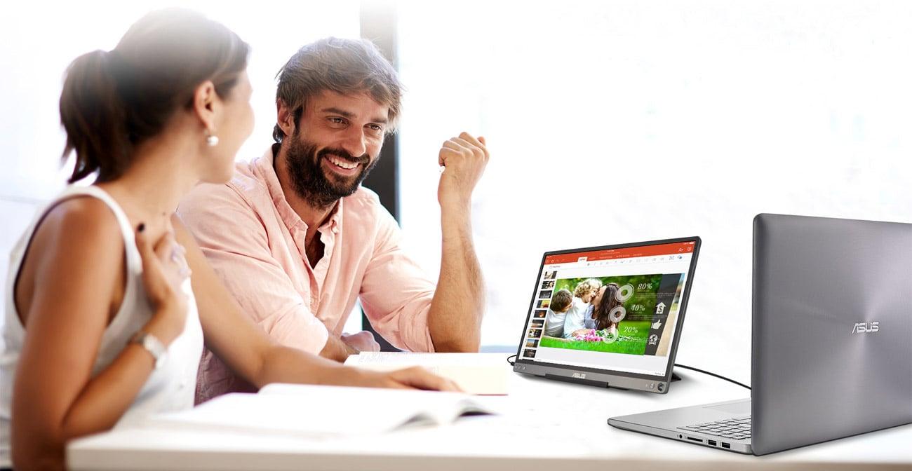 Mobilny monitor do domu i biura ASUS ZenScreen MB16ACE