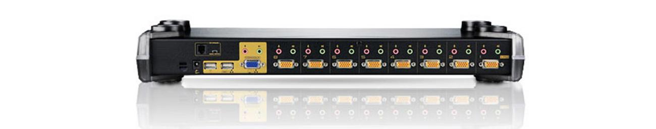 8-portowy przełącznik KVM