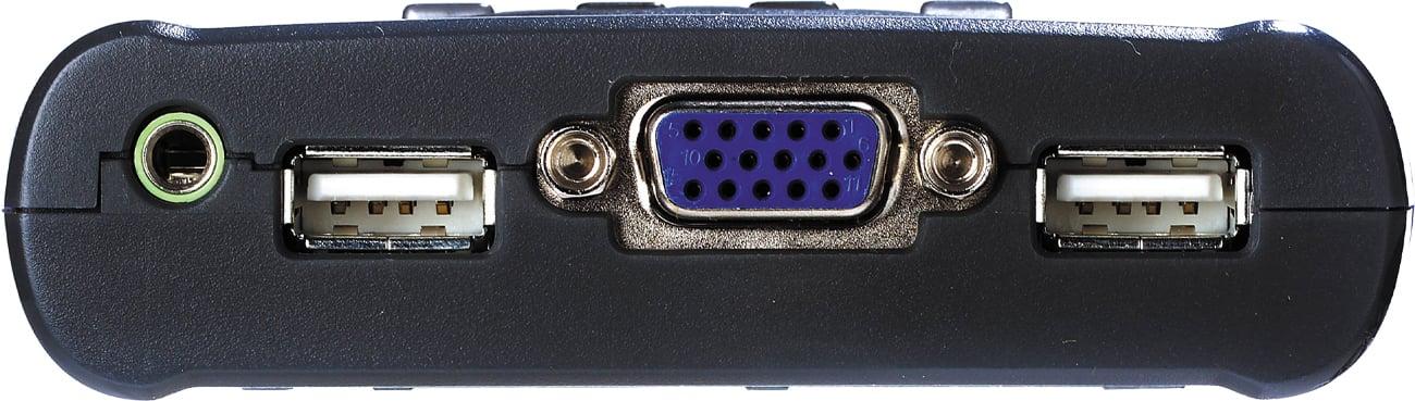Przełącznik KVM ATEN CS64US-AT złącza konsoli