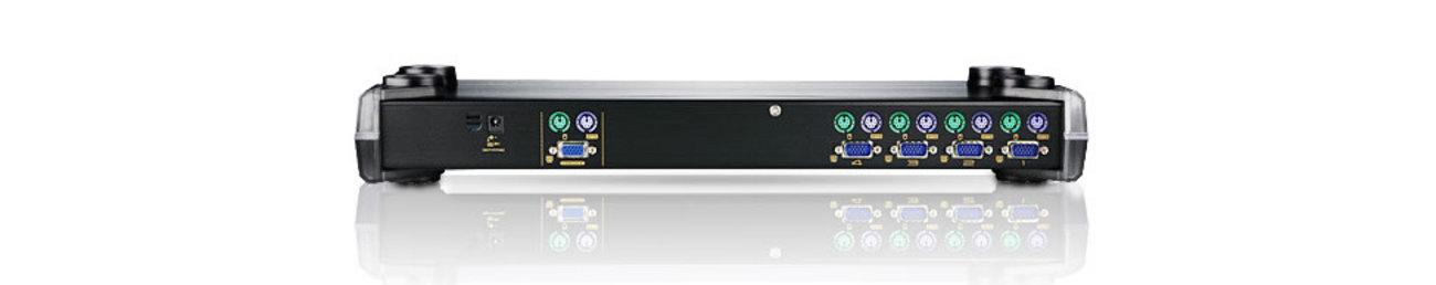 4-portowy przełącznik KVM