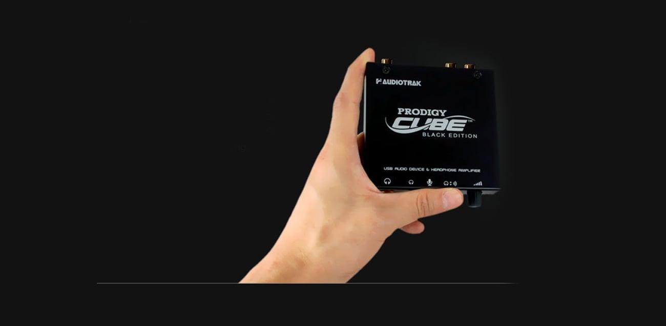 Karta muzyczna Prodigy Cube Black Edition USB - Pokrętło głośności ALPS