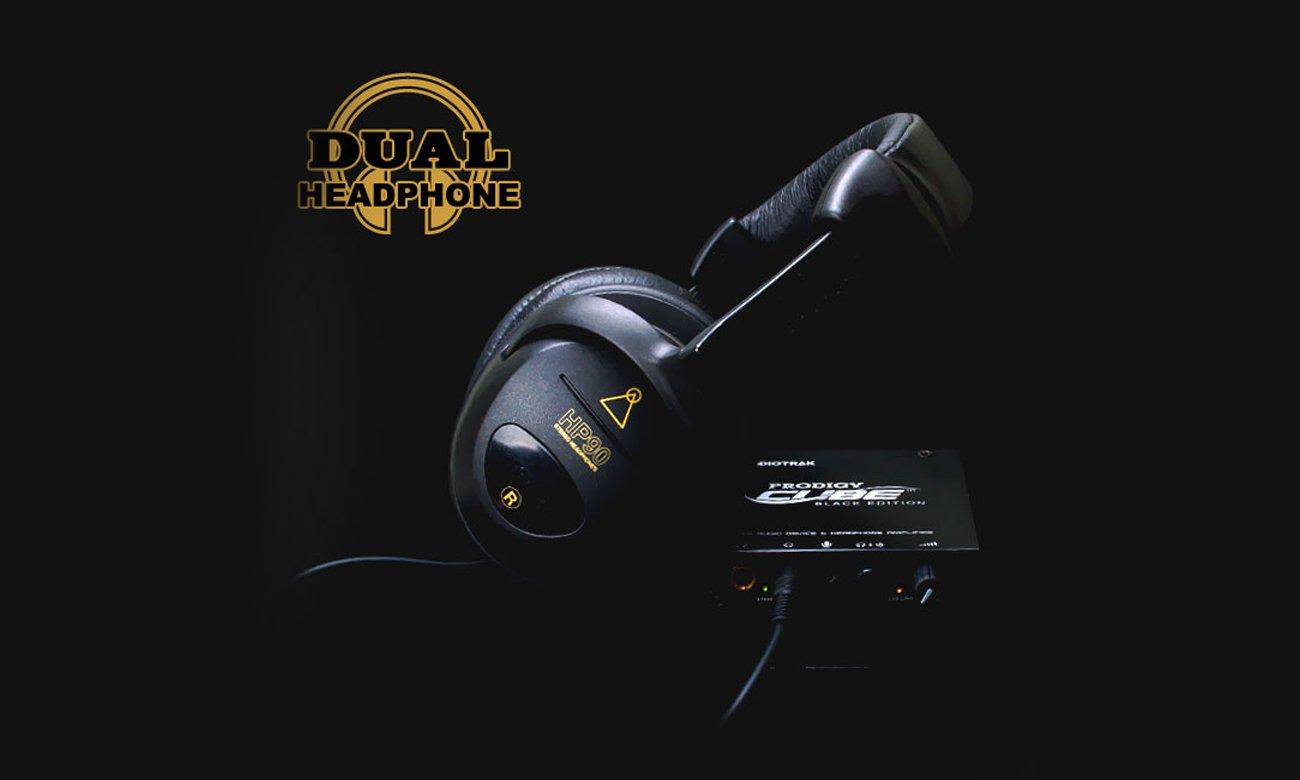 Karta muzyczna Prodigy Cube Black Edition USB - wzmacniacz słuchawkowy