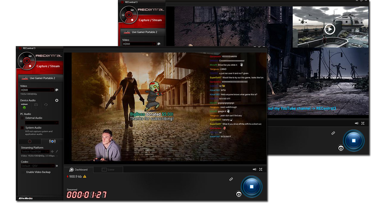 AVerMedia Live Gamer HD 2 RECentral 3