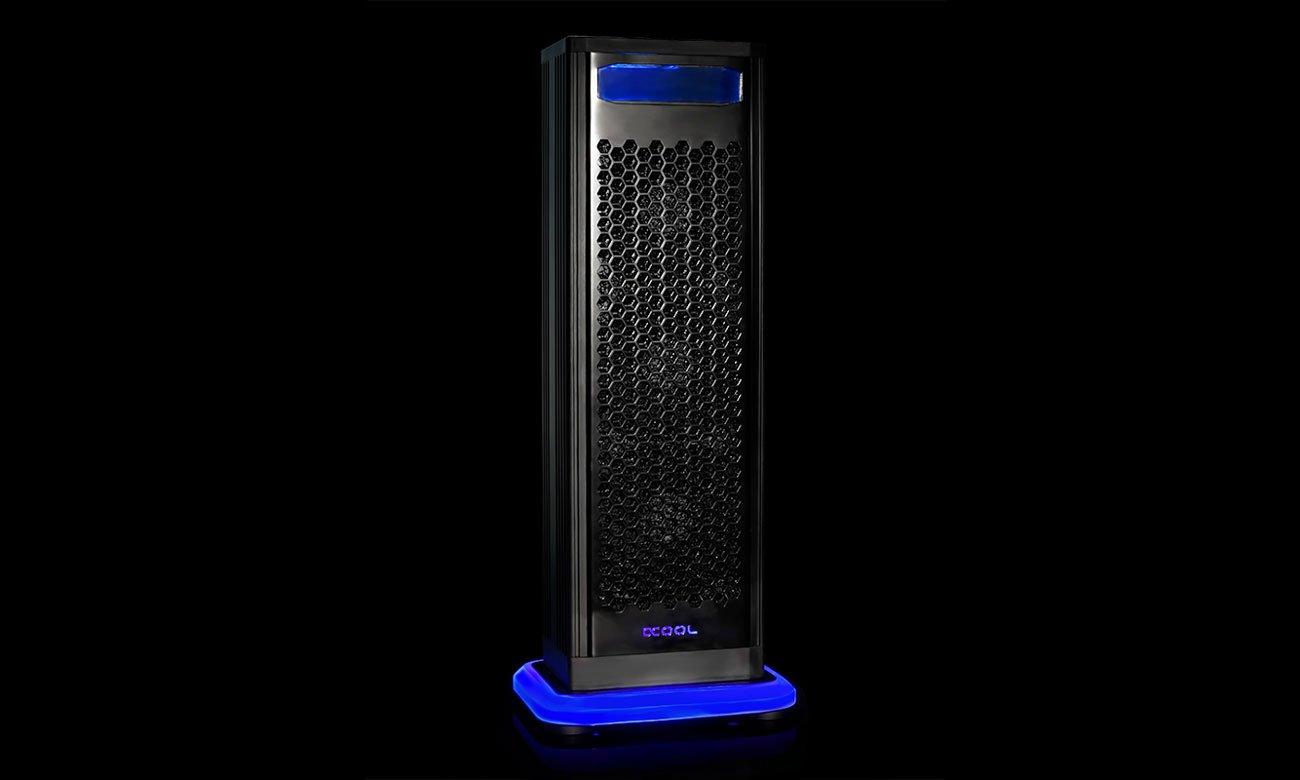 Alphacool Eiswand 360 Miedziany radiator 360 mm, wentylatory