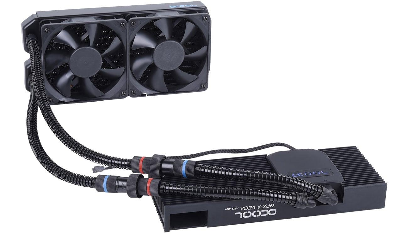 Chłodzenie GPU Alphacool Eiswolf 240 GPX Pro MD RX Veg M01 1014283