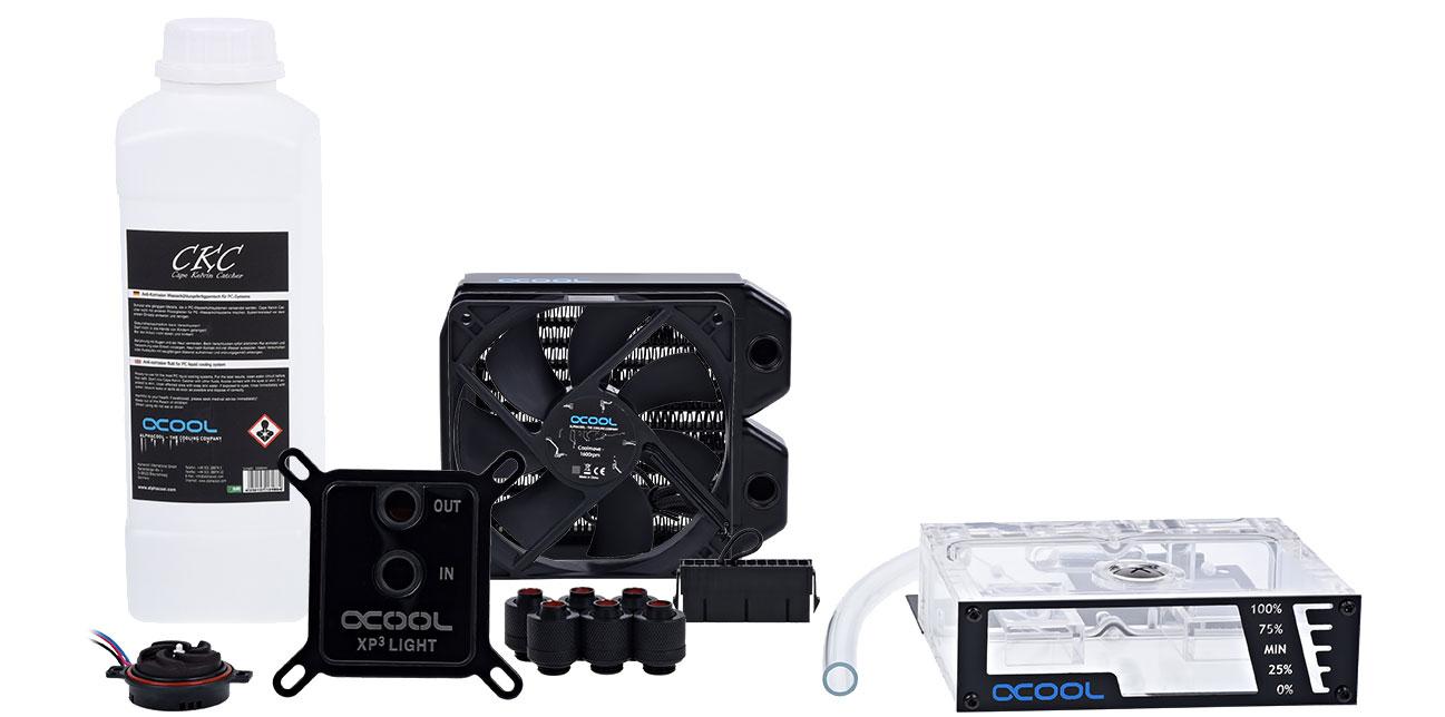 Chłodzenie wodne Alphacool NexXxoS Cool Answer 120 LT/ST 40186