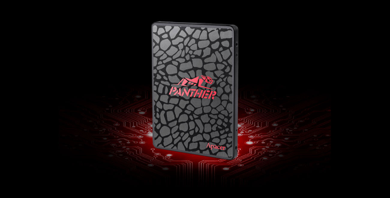 Dysk Apacer 512GB 2,5'' SATA SSD AS350 Panther