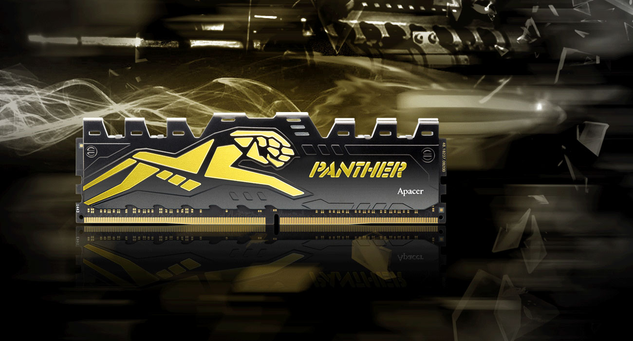 Apacer 8GB 2666MHz Panther Golden CL16