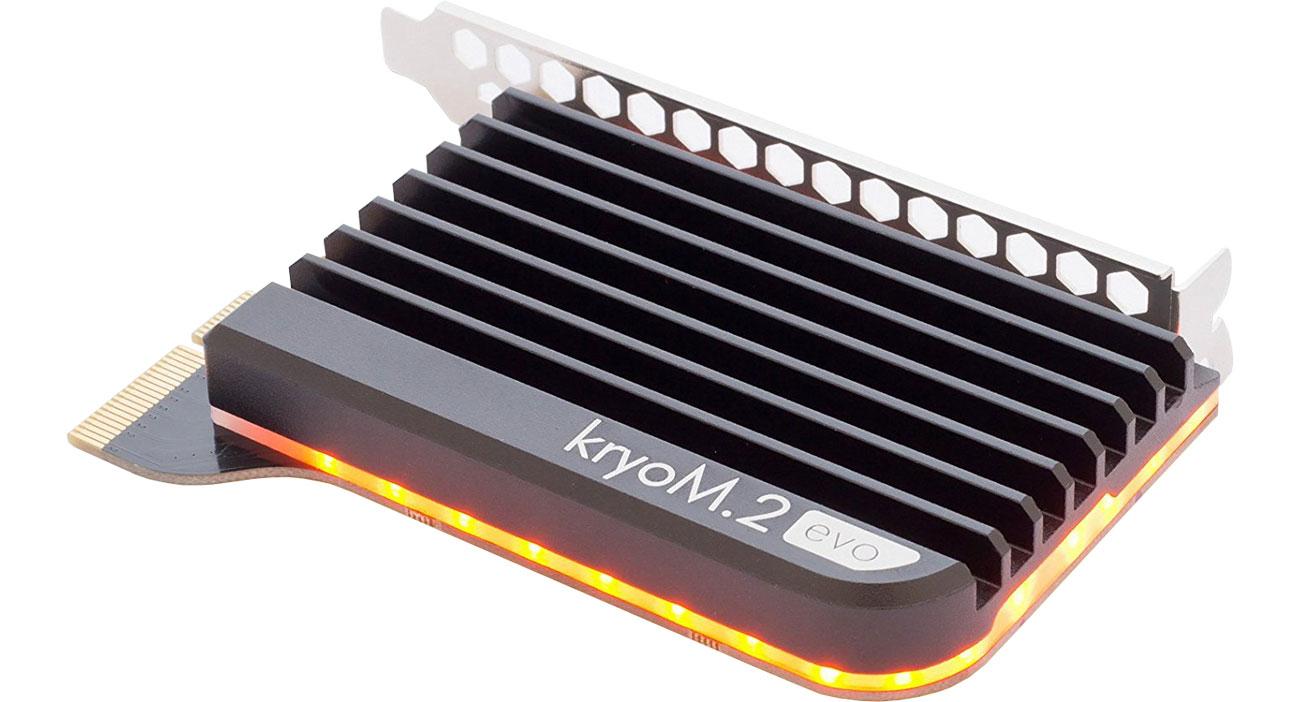 Adapter M.2 aqua computer kryoM.2 evo PCIe 3.0 x4