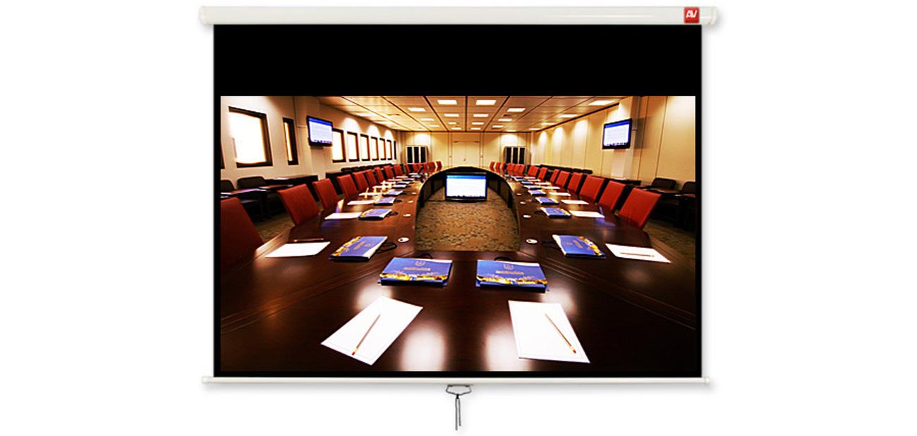 Ekran projekcyjny ręczny Avtek Cinema 280
