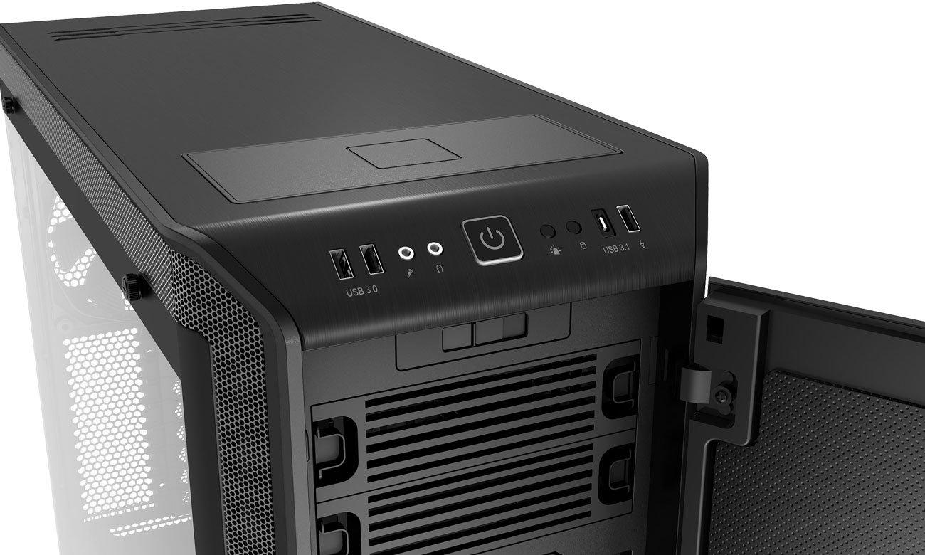be quiet! Dark Base Pro 900 Black Rev.2 BGW15 Ładowarka Qi, porty USB