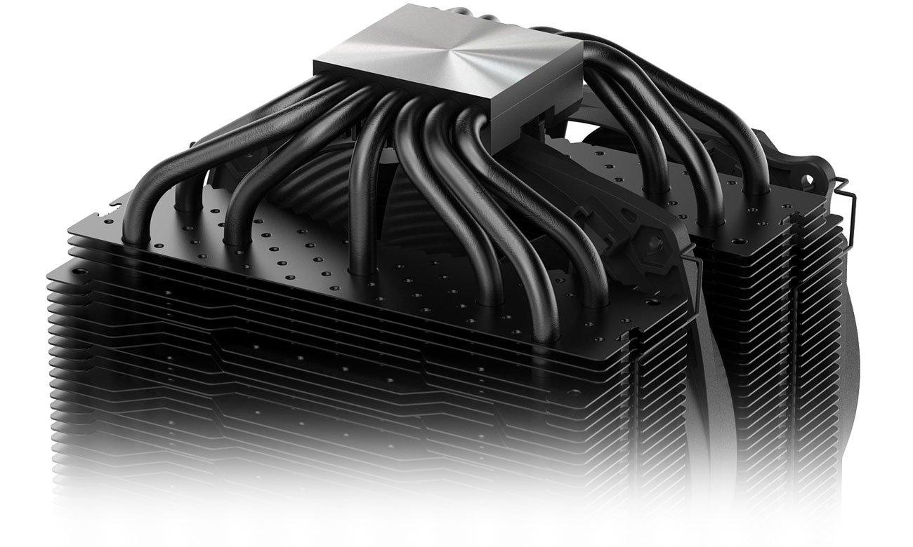 be quiet! Dark Rock Pro 4 Aluminiowy radiator, siedem miedzianych ciepłowodów