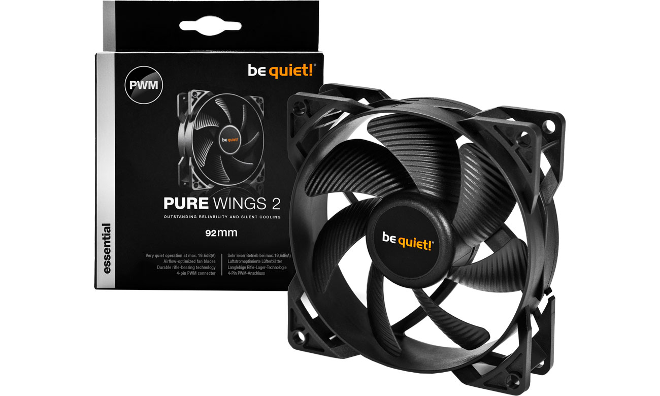 Wentylator do komputera be quiet! Pure Wings 2 PWM 92mm BL038