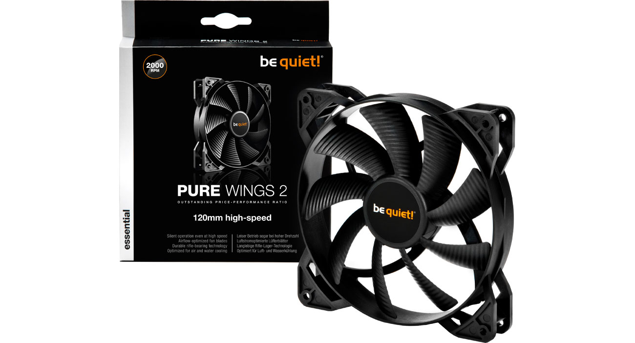 Wentylator do komputera be quiet! Pure Wings 2 120mm High-Speed BL080