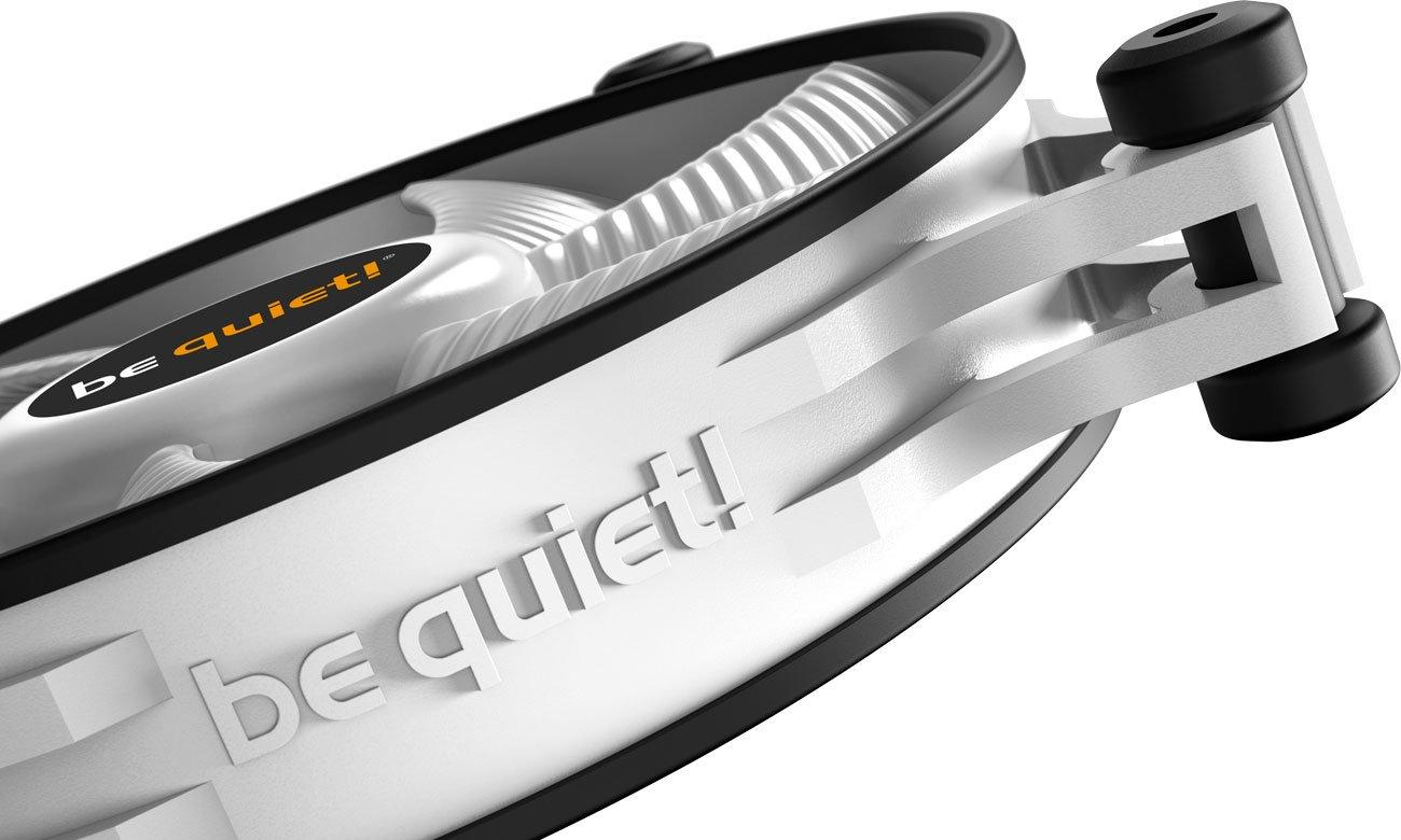 be quiet! Shadow Wings 2 White 120mm - Podkładki antywibracyjne