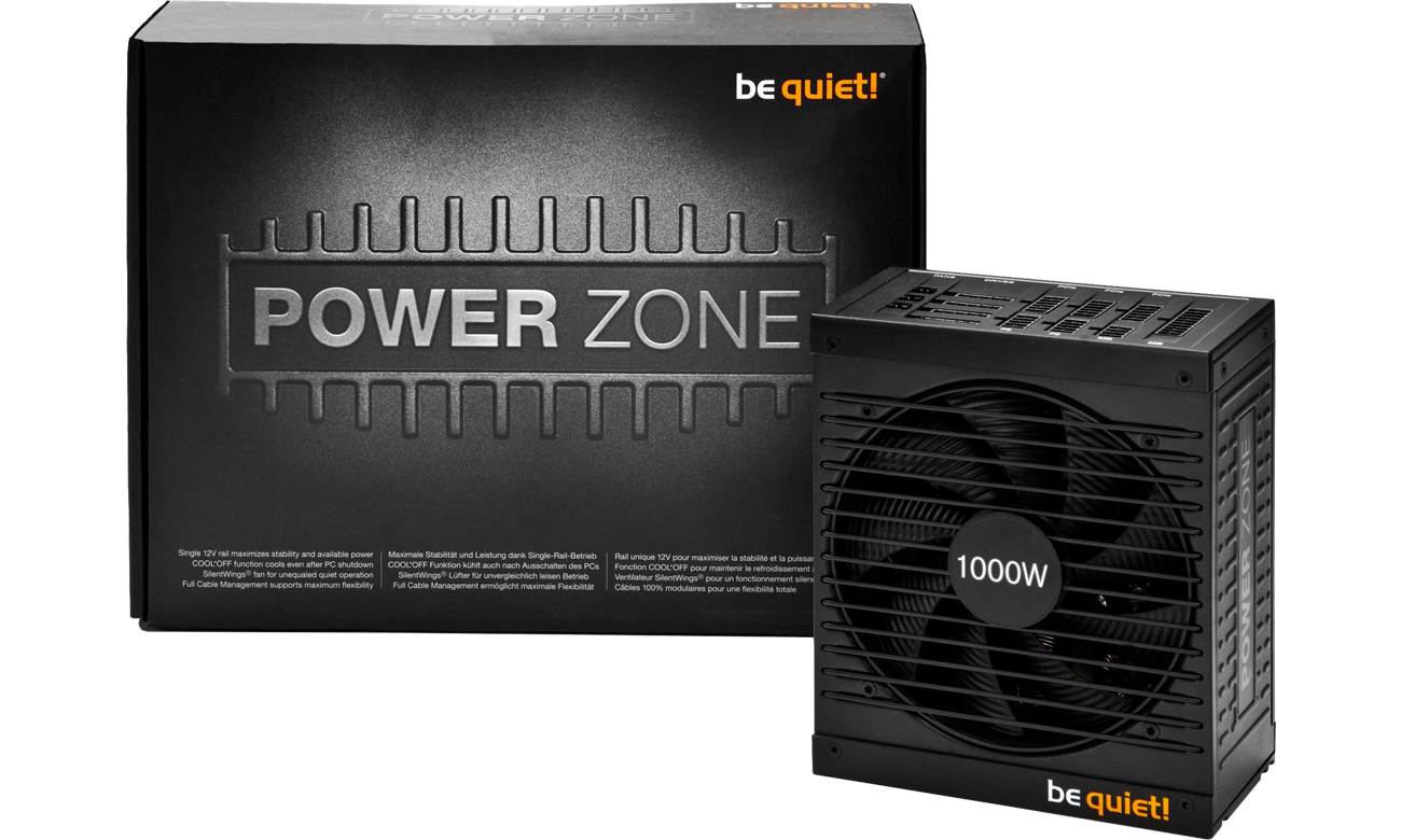 be quiet! 1000W Power Zone BOX BN213