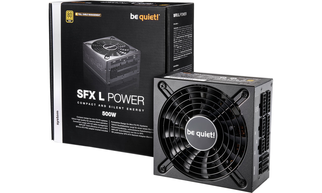 Zasilacz do komputera be quiet! SFX-L POWER 500W BN238