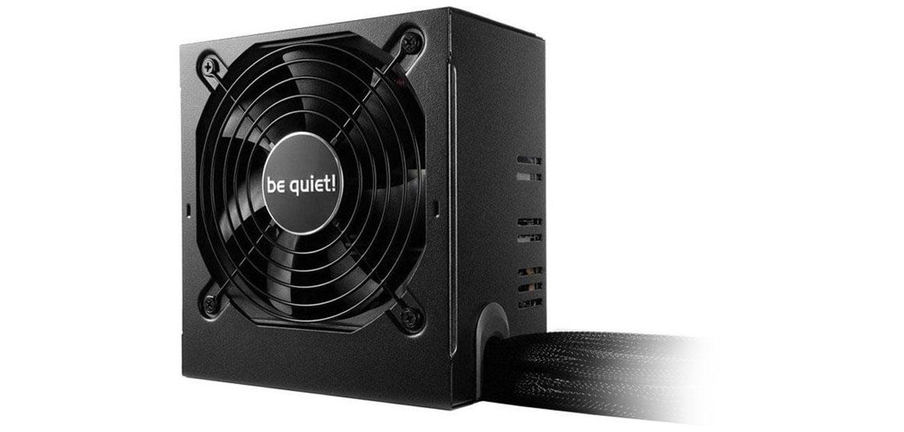be quiet! 500W System Power 8 najwyższa jakość dwa złącza PCI kompatybilność